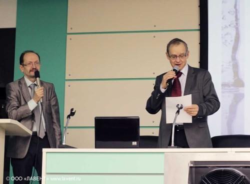 Серафимов В.К. (слева) и Anders Lycksater