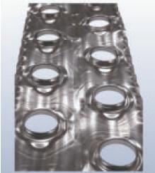 Ламели для теплообменников теплообменник 800 ткг-1, 6-м1
