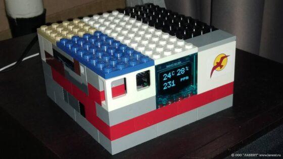 Метеостанция LEGO